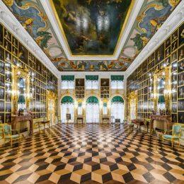 петергоф картинный зал