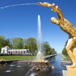 петергоф фонтаны1